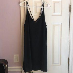NWOT Topshop black shift dress